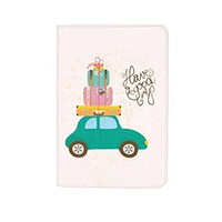 Have A Good Trip Travel Leather Business Passport Holder Protector Cover_SUPERTRAMPshop