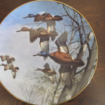 "David Maass ""Misty Morning"" collectors plate"