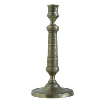 Pre-owned French Empire Bronze Candlestick