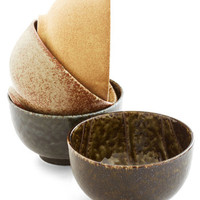ModCloth Rustic Wave Review Bowl Set