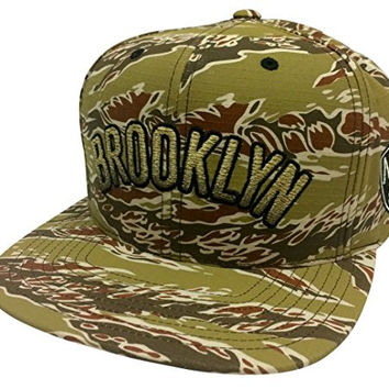 Mitchell & Ness Tiger Stripe Camo Gradiant Brooklyn Nets Snapback