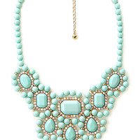 Candy Coated Bib Necklace