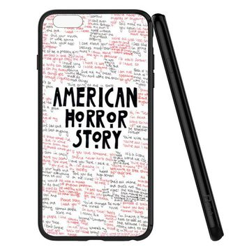 American Horror Story Evan Peter iPhone 6 | 6S Case Planetscase.com