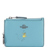 COACH BOXED SNOOPY MINI SKINNY ID CASE | Dillards