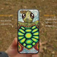 tortoise colorfull tortoise iPhone 5s case,iPhone 5C ,Samsung Galaxy S3,S4 Case,iPhone 5 Case,iPhone 4,4s case,water proof,Gifts