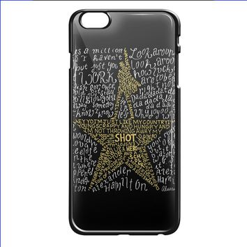 musical shot logo for iPhone 6/6s Black Case
