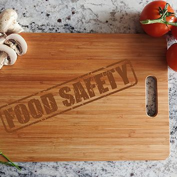 ikb457 Personalized Cutting Board Wood funny inscription inspirational restaurant kitchen