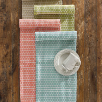 Park Designs Wicklow Table Runner in Coral