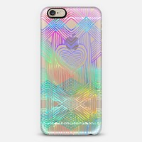 Neon Heartstrings 2 - transparent iPhone 6 case by Micklyn Le Feuvre   Casetify