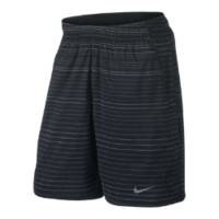 "Nike 10"" Gladiator Plaid Men's Tennis Shorts - Black"