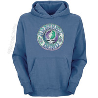 Grateful Dead - Batik Steal Your Face Hoodie on Sale for $46.99 at HippieShop.com
