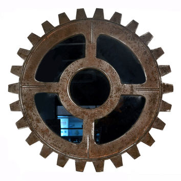 Industrial Style Gear Wall Hanging Decoration  3225