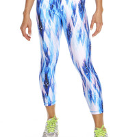 Womens Snow Dream Performance Capri Leggings
