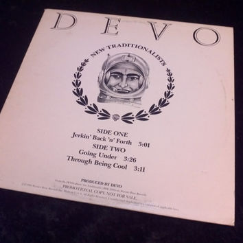 Vintage Devo Vinyl Record Album New Traditionalists Promo 1981