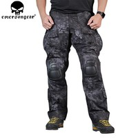 EMERSONGEAR Gen3 Combat Pants Tactical Hunting Airsoft Combat Trousers Airsoft Pants with Knee Pads TYP EM7036