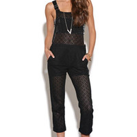 Nameless Circlar Crochet Overalls at PacSun.com