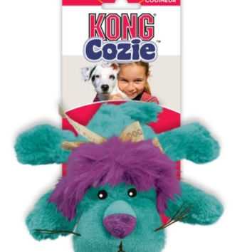 Kong Cozie King The Purple Haired Lion, Medium Dog Toy