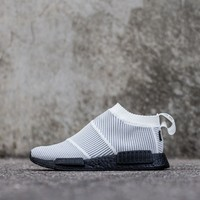 ADIDAS NMD CS1 GTX PRIMEKNIT Boost™ Gore-Tex®, White/Black (BY9404), UK 3 to 12