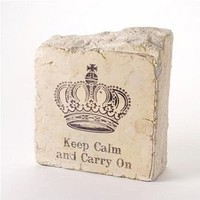 keep calm book end by swings & pretty things | notonthehighstreet.com