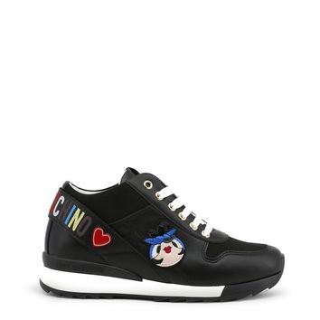 Love Moschino Black Shoes