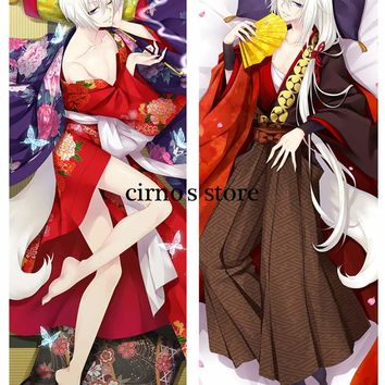 kamisama hajimemashita kiss anime Characters cool boy tomoe & kurama Dakimakura body pillow cover