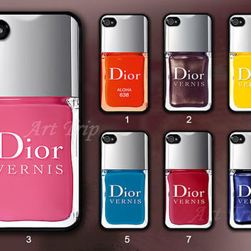 iPhone 4 Case, iphone 4s case --Nail Polish iphone case, nailpolish iphone 4 case