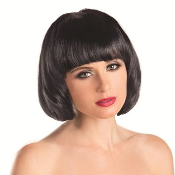 Bewicked Female Solid Color Short Bob Wig BW090
