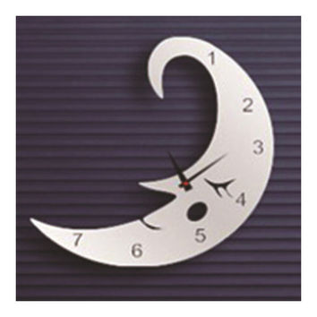 Creative Wall Clock Sticking Mirror