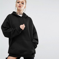 Hats Winter Simple Design Casual Sports Batwing Sleeve Hoodies [8914680902]