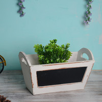 Wooden Decoration Storage Box Home Decor [6282557446]