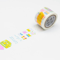 mt x Paul Cox Washi Tape Single Nains