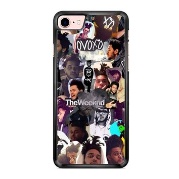 The Weeknd Collage iPhone 7 Case