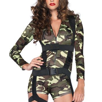 Leg Avenue Female 2PC.Goin' Commando Costume 85292
