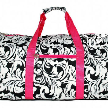 Personalized Duffle Bag Overnight Weekender Canvas Girls