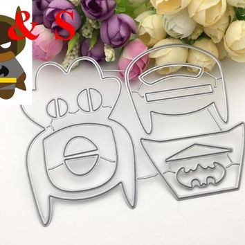 Batman Dark Knight gift Christmas Q92 CUTTING DIES Puzzle cute batman collage build up Scrapbook card invitation paper craft party decor embossing stencil cutter AT_71_6