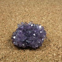 Purple Amethyst Cluster Decoration - Purple Crystal Nodule Paperweight