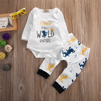 2016 New Baby Clothing Sets Baby Boys Bodysuits Kids Jumpsuits Baby Girls Clothes Pants