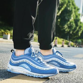 Nike Air Max 97 full palm air cushion fashion cushioning running shoes