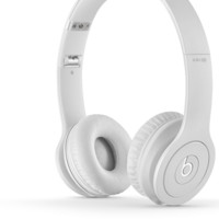 The White Standard Beats by Dre Solo HD Headphones FREE SHIPPING