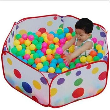 VONC1Y Children Toys Tent Game Ball Pits Pool Foldable Children Ball Pool Outdoor Fun Sports Educational Toy