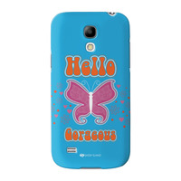 Sassy - Hello Gorgeous #10433 Full Wrap High Quality 3D Printed Case for Samsung Galaxy S4 Mini by Sassy Slang