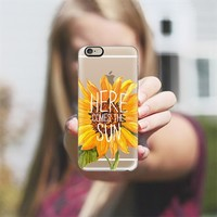 Here Comes The Sun iPhone 6 case by Sara Eshak | Casetify