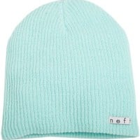 neff Men's Daily Beanie, Mint, One Size