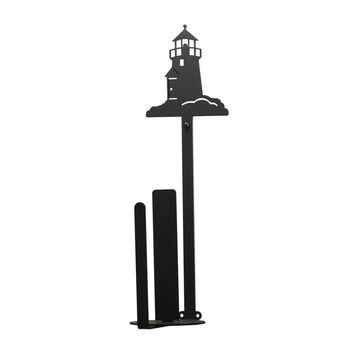 Lighthouse - Paper Towel Holder Holder Vertical Wall Mount