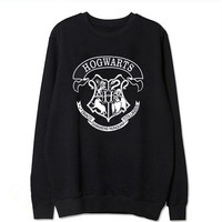 Autumn winter Harry Potter Letter Print HOGWARTS Women Cotton Long Sleeve T shirts Fashion O neck Loose Pullovers Clothing Tops-in T-Shirts from Women's Clothing & Accessories on Aliexpress.com | Alibaba Group