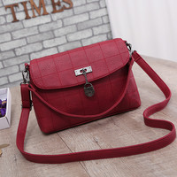 New Women Bag PU Leather Vintage Shoulder Bag Handbags Women Messenger Bag Crossbody Bag Bolsa Feminina Purses Tote Satchels
