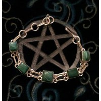 Money and Luck Magick Malachite Bracelet