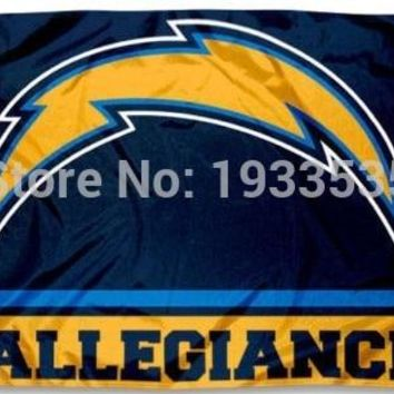 San Diego Chargers Allegiance 3x5 Flag