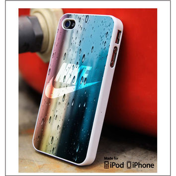 Nike Water Droplets iPhone 4s iPhone 5 iPhone 5s iPhone 6 case, Galaxy S3 Galaxy S4 Galaxy S5 Note 3 Note 4 case, iPod 4 5 Case