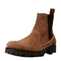 Dolce & Gabbana Men's Brown Suede Leather Ankle Boots Shoes US 10 IT 9 EU 43